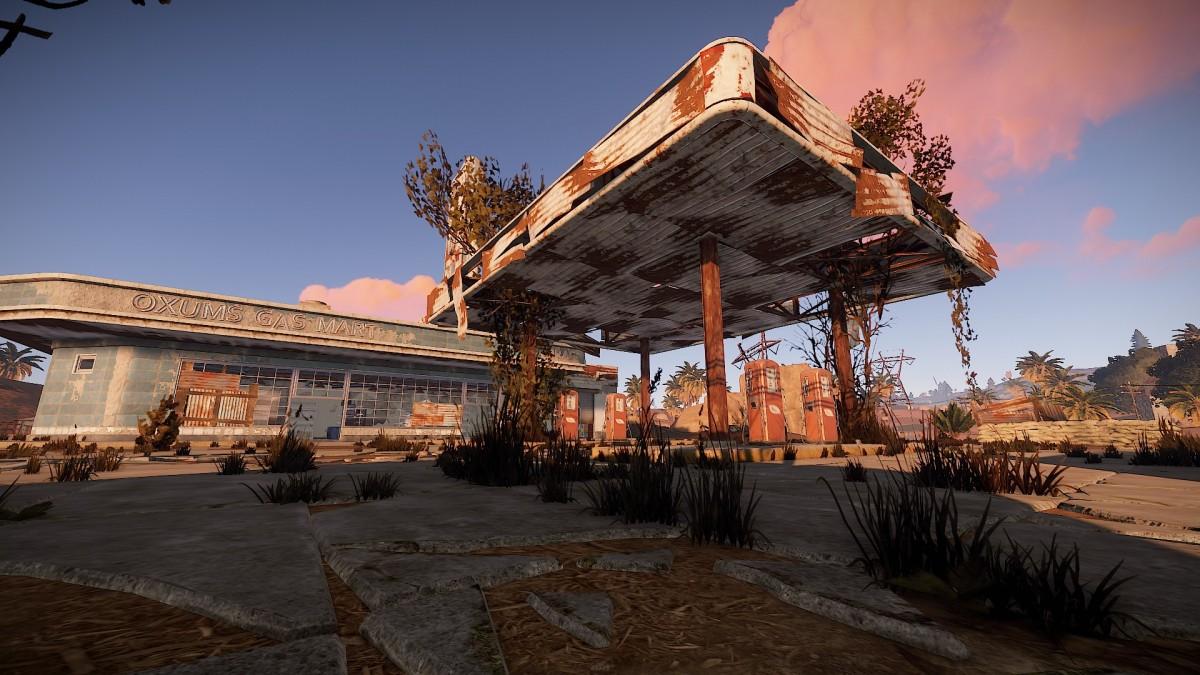 Rust Tankstelle