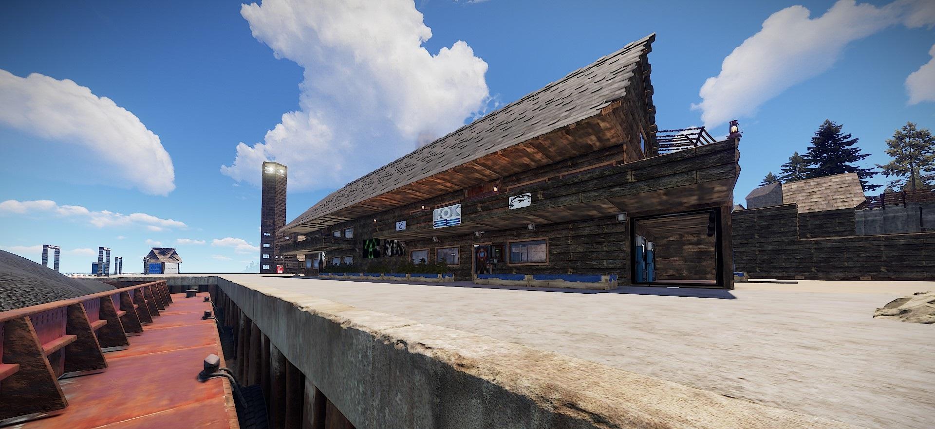 MeRu Hafen Blick auf Hok´s Haus