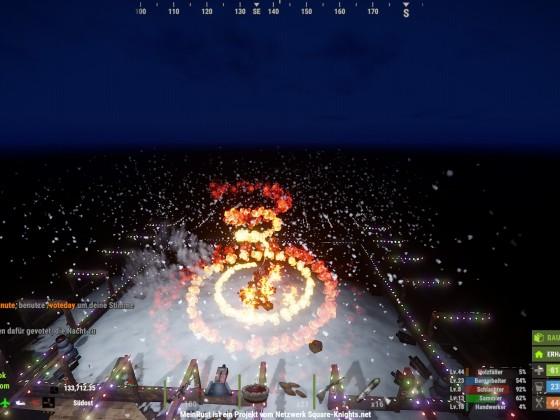 spektakuläres Event