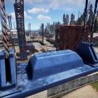 Stillgelegter Hafen