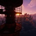 Sonnenuntergang Leuchtturm