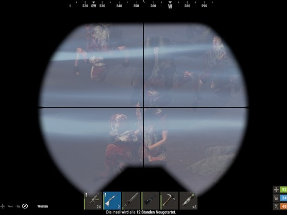 Zombies Unterwasser